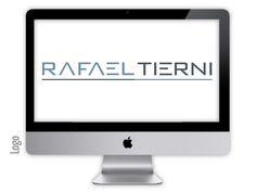 Logo criado para a empresa RAFAEL IERNI pela agência Nkdesign