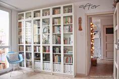 Ideas Book Shelf Scandinavian Storage For 2019 Home Library Design, Home Office Design, Home Office Decor, Home Decor, Library Ideas, Diy Storage Sofa, Book Storage, Ikea Living Room, Glass Cabinet Doors