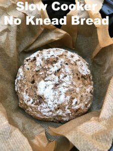 Slow Cooker No Knead Bread - simple and hassle free bread from scratch!