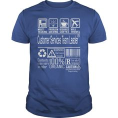 Customer Services Team Leader Multitasking Job Shirts #gift #ideas #Popular #Everything #Videos #Shop #Animals #pets #Architecture #Art #Cars #motorcycles #Celebrities #DIY #crafts #Design #Education #Entertainment #Food #drink #Gardening #Geek #Hair #beauty #Health #fitness #History #Holidays #events #Home decor #Humor #Illustrations #posters #Kids #parenting #Men #Outdoors #Photography #Products #Quotes #Science #nature #Sports #Tattoos #Technology #Travel #Weddings #Women