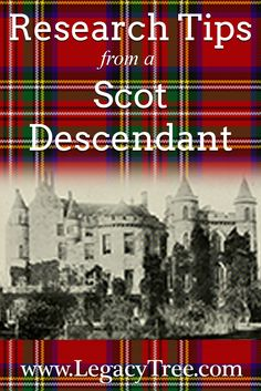 One of our expert #Genealogists shares #genealogytips on researching your #Scottish #ancestry and #FamilyHistory