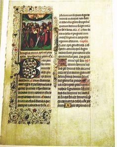illuminated manuscripts - Le Bréviaire de Philippe le Bon