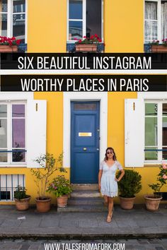 Because of its timeless and romantic appeal, Paris is a great place to visit for charming photos. Check out these x beautiful Instagram worthy places in Paris. Click through to find out exactly where they are!
