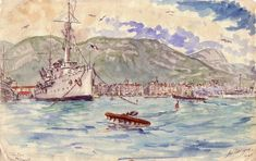 Port de Toulon Photos, Painting, Art, Oil On Canvas, Watercolor Painting, Toulon, Photography, Drawing Drawing, Art Background