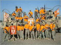 Protection on Rocky Top! Tn Vols Football, Tennessee Volunteers Football, Tennessee Football, College Football, Tennesse Volunteers, Tennessee Knoxville, Vol Nation, Tennessee Girls, Go Vols