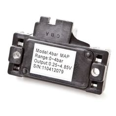 4 Bar MAP Sensor. 4 bar MAP sensor for misc tuning/turbo use. 2011 is the year for going over 30 PSI of boost. Make sure your ECU knows you're running that much boost! Compatible with all engine management and tuning devices requiring the use of a 4 bar MAP sensor. Direct drop-in replacement for setups already harnessed for 3 bar MAP sensor.