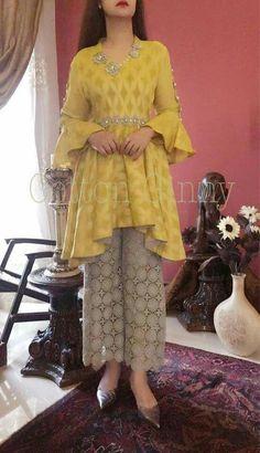 Best 12 AfricanKidsFashion TopKidsClothingBrands is part of Frock style kurti - Pakistani Dresses Casual, Indian Fashion Dresses, Pakistani Dress Design, Indian Designer Outfits, Indian Outfits, Latest Pakistani Fashion, Party Wear Indian Dresses, Designer Party Wear Dresses, Kurti Designs Party Wear