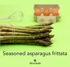 Seasoned asparagus frittata - Be a smarty – eat your eggs! Eggs are rich in choline, a mineral that may promote memory and your ability to learn. http://www.allinahealth.org/Health-Conditions-and-Treatments/Eat-healthy/Recipes/Side-dishes/Seasoned-asparagus-frittata/
