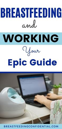 Tips for the working mom who is breastfeeding. Everything you need to know whether you are a full time working mom or working part time. The hacks and tips to continue breastfeeding after you return to work. #breastfeedingreturnto work #workingmombaby #pumpingatwork