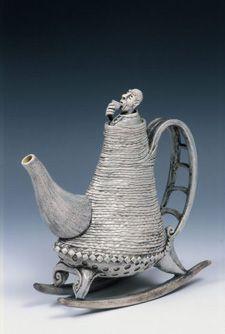 Carol Wedemeyer, ceramic teapot