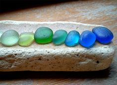 "I agree with this sentiment that came with this image:  ""I am a sea glass addict."" Photo by ARTISANNE on Flickr."
