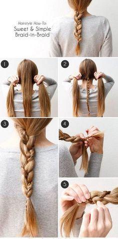 hair tutorials for curly hair long hair