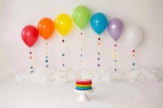 Baby Cake Smash, 1st Birthday Cake Smash, Baby Boy 1st Birthday, First Birthday Photos, Birthday Ideas, Happy Birthday, Birthday Outfits, Funny Birthday, Rainbow First Birthday