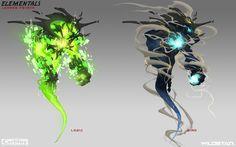ArtStation - Elementals - Creatures, Johnson Truong