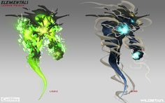 ArtStation - Elementals - Creatures, Johnson Truong