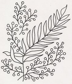 Floral Vines by jeninemd embroidery pattern.