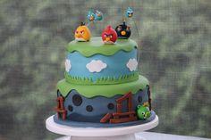 AngryBirds Cake