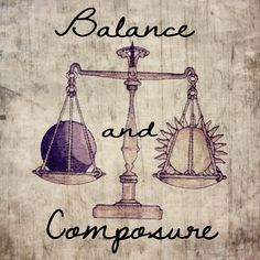 Balance and composure is what Libra is all about