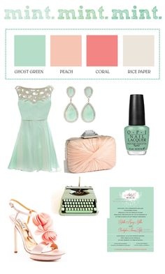 "Love these colors if we switch and decide to do a spring wedding instead of fall!! ""TREND ALERT! Predictions of Spring/Summer 2013 Wedding Colors"""