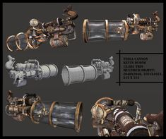 Fantasy Blade, Fantasy Weapons, Sci Fi Fantasy, Tower Defense, Pew Pew, Armors, Steam Punk, Game Design, Cannon