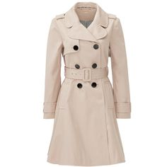 Rental kate spade new york French Beige Classic Twill Trench (270 BRL) ❤ liked on Polyvore featuring outerwear, coats, jackets, casaco, dresses, brown, brown coat, beige trenchcoat, pink coat and kate spade