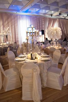 Table Top Decor by Dream Weddings by Veve at The Wedding Extravaganza 2014 Show. www.weddingshows.com