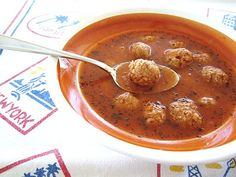Mission: Food: Armenian Meatball Soup