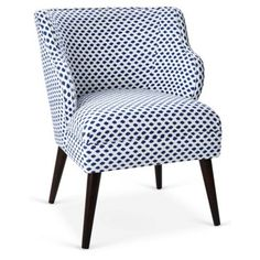 Check out this item at One Kings Lane! Kira Chair, Blue