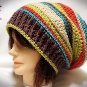 Inside-Out Slouch Crochet Pattern