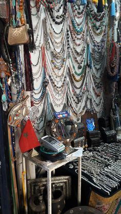 Handmade jewelry in Morocco. Moroccan shopping   is definitely an enjoyable activity :)...Check out the Tour page of WorldExplore.biz to plan your next travel shopping spree :)