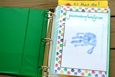 How I organize our kid�s school work (projects, drawing, tests) that they bring home.