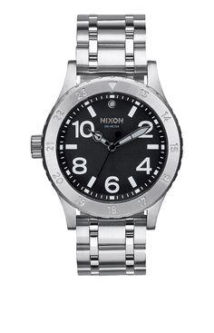 418c47943a6 Nixon 38-20 Watch - Black Nixon Watches