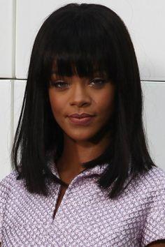 Cortes de cabelo 2015 - Rihanna