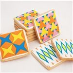 These are like edible Jonathan Adler creations!