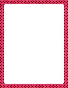 14 best polka dots images page borders tags borders frames