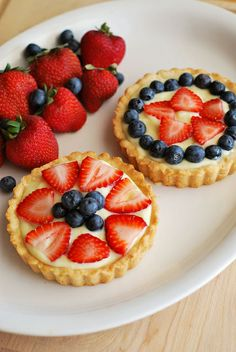Berry Tarts for the 4th of July