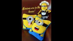 Ideas para hacer Minion a crochet. Galicraft.