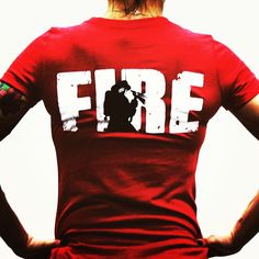 $5 from each Fire shirt sold goes to @555fitness, a charity helping firefighters stay fit and active to help save your loved ones lives while minimizing the risk to their own. www.jekyllhydeapparel.com