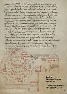 Mystical Politics: Medieval Maps of Jerusalem - Church of the Holy Sepulchre