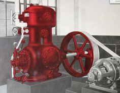 ammonia ice compressor