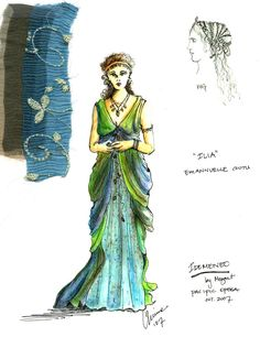 Idomeneo (Ilia). Pacific Opera. Costume design by Christine Reimer. 2007
