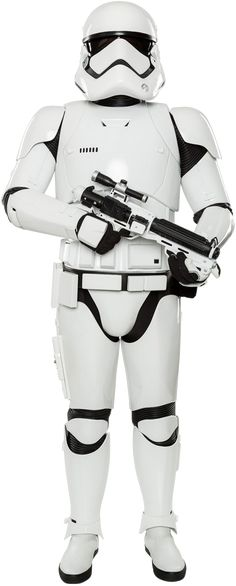 First Order stormtrooper armor was the standard armor of the stormtroopers of the First Order, a military junta inspired by the ideals of the former Galactic Empire. Noted for its stark white appearance, First Order armor was derived from the respective designs of its clone trooper and stormtrooper predecessors. The First Order stormtroopers wore stark white-colored armor, the design of which drew inspiration from that of the foregone Republic clone troopers of the Clone Wars and the...