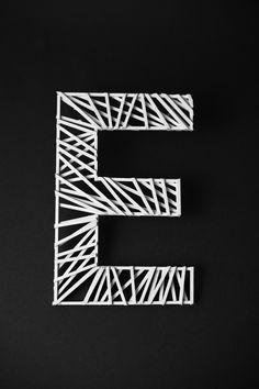 Skeletype #typeface #typography #design @codeplusform