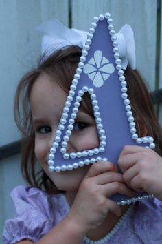 Sofia The First Inspired Pearl number 4 Photo by WeeLikeToParty, $20.00