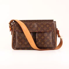 Louis Vuitton Viva-Cité GM Monogram Strap Bag. I love my new Louis!!!!!!