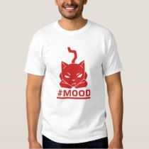 #Mood Cat Red - Customizable Men's Shirt. On the occasion when you are just like eff it!