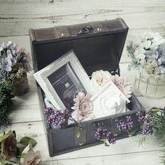 ウェルカムトランク 手作り アンティーク Decorative Boxes, Bridal, Wedding, Home Decor, Valentines Day Weddings, Decoration Home, Room Decor, Weddings, Home Interior Design