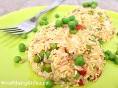 Hráškové rizoto s tofu