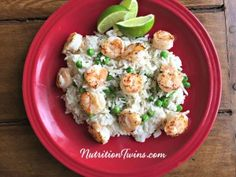 """Put the Lime in the Coconut! 🙂 We love listening to this song while we enjoy this meal since this dish is a Caribbean getaway for your taste buds.  """"Is it OK to eat shrimp?"""" This is one of the first questions we often got asked when we began our careers as registered dietitians. …"""