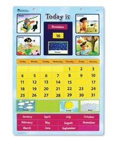 Magnetic Learning Calendar #zulily #zulilyfinds
